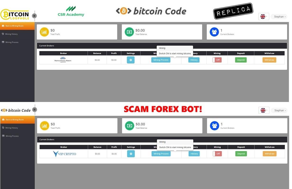bitcoin code auto trading